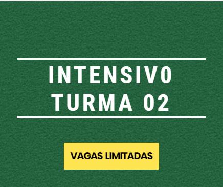 LANÇADO CURSO INTENSIVO TURMA 02